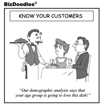 Know Your Customers Cartoon